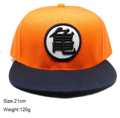 Dragon Ball Z Orange and Black Hat