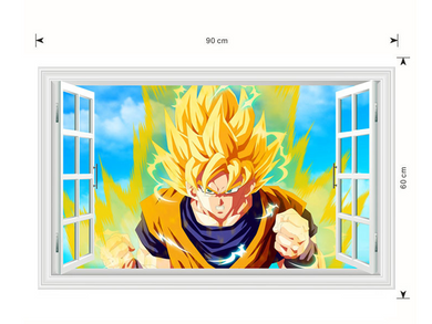 Goku Wall Sticker