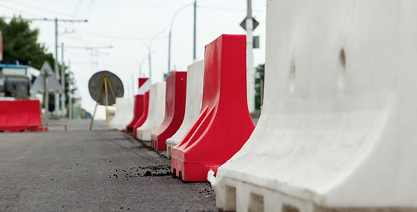 Water Fillable Plastic Jersey Barriers