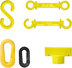 Plastic Stanchion Accessories
