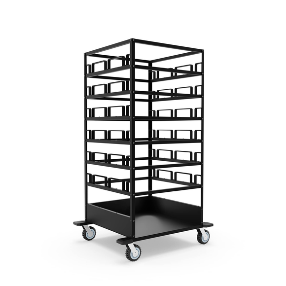 Storage Carts for Stanchions