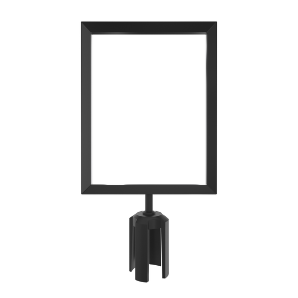 Retractable Belt Barrier Sign Frames