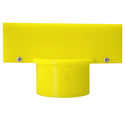 Plastic Stanchion Post Top Sign Frames