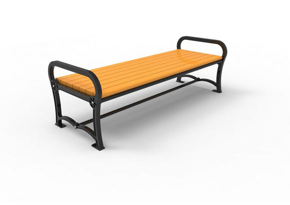 Backless Park Benches