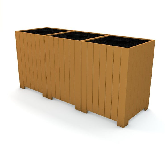 Recycling Receptacles Trash Receptacles