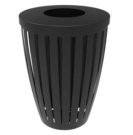 Steel Trash Receptacles