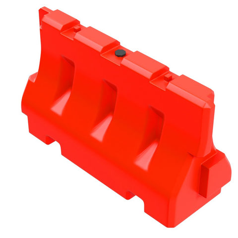 Plastic Jersey Barrier, water or sand fillable