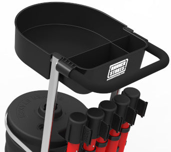 The PLUS Line Cart Package now has a cart tray available to hold and transport tools, and gear for the job site