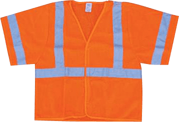 high visibility safety gear