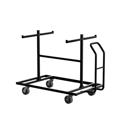 30 Unit Capacity Storage Pushcart for 8.5 Ft. Steel Barricades