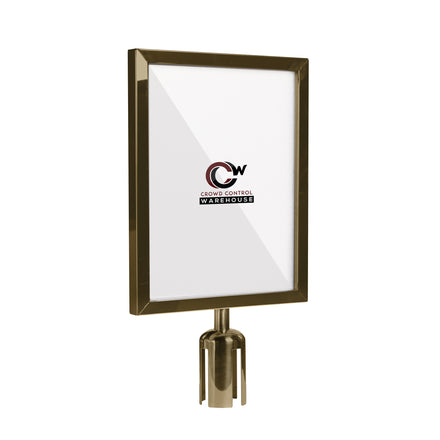 11x14 Deluxe Frame for Tensabarrier Style Posts
