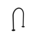 U Loop Bike Rack, 3 Bike Capacity - Surface Mount