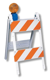 Type I and II Plastic Traffic Barricades
