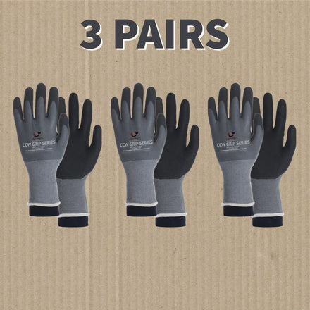 CCW Grip Series Nylon and Spandex Coated Gripping Gloves