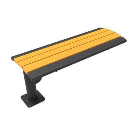 Phoenix Cantilever Park Bench - Recycled Plastic