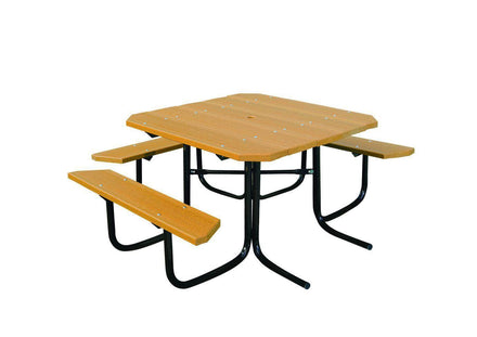 Square Table - ADA Accessible 3 Seats - 46 In.
