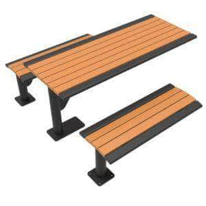 Phoenix Cantilever Picnic Table - Recycled Plastic -  6 Ft.