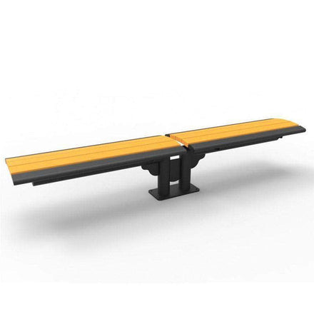 Phoenix Double Cantilever 8ft Park Bench - Recycled Plastic