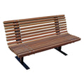 Spine Wood Park Bench - 4 Ft.