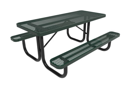 Rectangular Portable Table - Diamond Pattern
