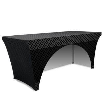Stretch Table Throw Full Color Print 6 Ft.