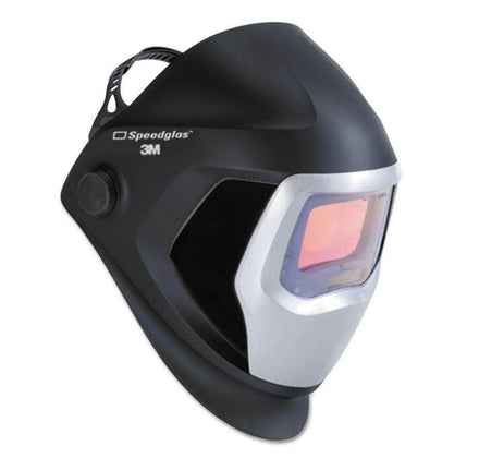 3M SpeedGlas 9100X Series Black Welding Helmet, Shade #8-13