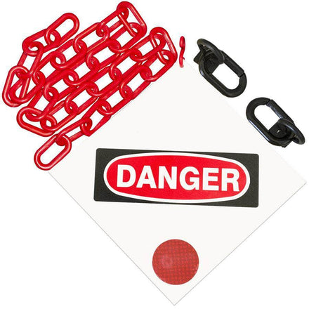 """DANGER"" Sign Kit"