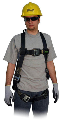 Honeywell Miller Heavy-Duty Welder Full Body Harness with Back and Side D-Rings