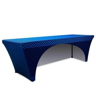 Stretch Table Throw Full Color Print 8 Ft.