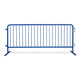 8.5 Ft. Heavy Duty Interlocking Steel Barricade - Blue
