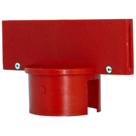 Sign Adapter for Plastic Stanchion Posts