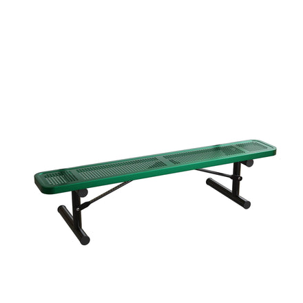 Extra Heavy-Duty Bench without Back - Perforated Pattern