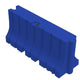 "Blue Water/Sand Fillable Traffic Barrier - 42"" H x 96"" L x 24"" W"