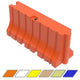 "Water/Sand Fillable Traffic Barrier - 42"" H x 96"" L x 24"" W"