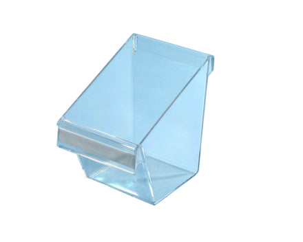 Acrylic Pocket for Merchandising Panels - W6 in. x H5.5 in. x D7.5 in.