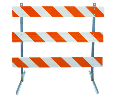 Angle Iron Type III Steel Traffic Barricade
