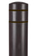 BollardGard Bollard Cover - Brown
