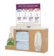 Respiratory Hygiene Station Wall Mount With Canister Provision