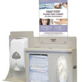 Respiratory Hygiene Station Wall Mount With Fixed Dispenser