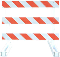 Break Away Type III Traffic Barricade