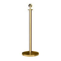 Ball Top Rope Stanchion with Sloped Base