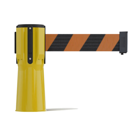 7.5 Ft. Cone-Mounted Retractable Belt Barrier