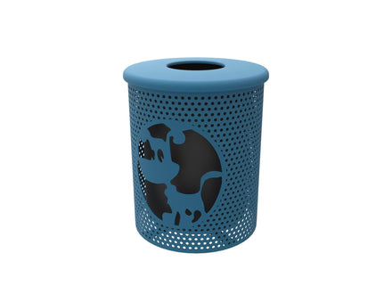 Portable Dog Themed Trash Receptacle