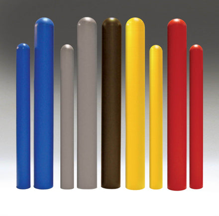 Dome Bollard Covers - Red