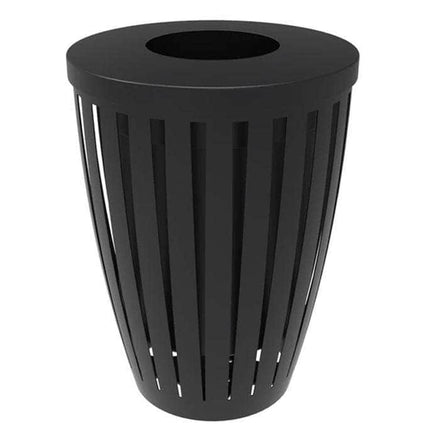 Downtown Tapered Trash Receptacles