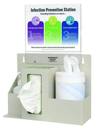 Hygiene Set: Tissue, Gloves, Hand Sanitizer