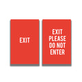 2-Sided Sign Insert -