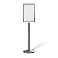 Floor Standing Sign Frame with Sloped Base - CCW Series SFFS-100