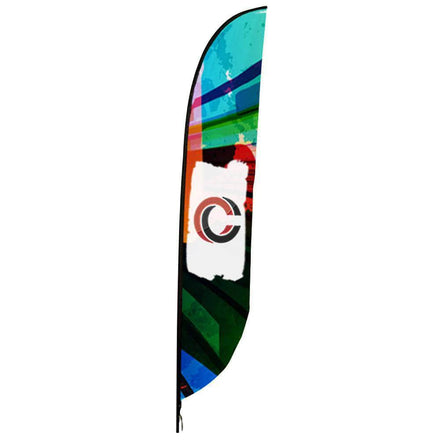 Feather Flag with Custom Printing