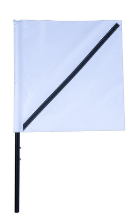 Airport Barricade Flags - 20x20 in Flag with 32 in Fiberglass Rod